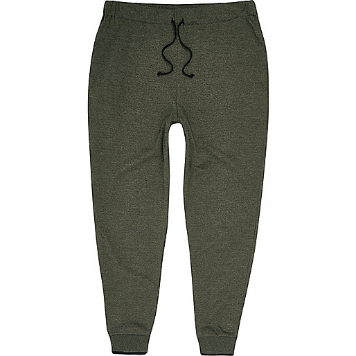 Light green tipped joggers