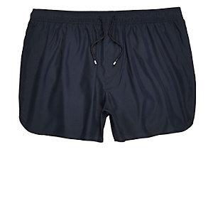 Short de bain style sport bleu marine