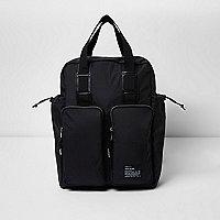 Sac et sac à dos hybride noir