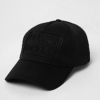 Black future hustle cap