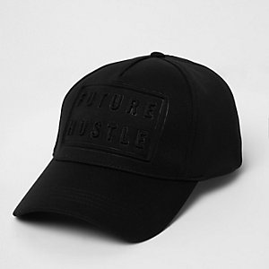Black future hustle cap