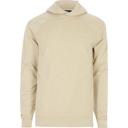 Stone textured hoodie
