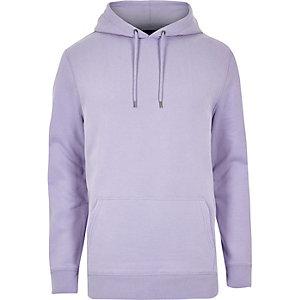 Paarse casual hoodie