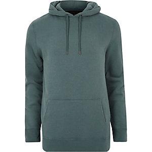 Blauwe casual hoodie