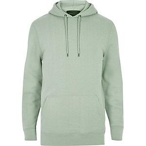 Lichtgroene casual hoodie