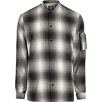 Grey Design Forum check shirt