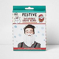 Barbe de Père Noël gonflable