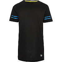 RI Active black print mesh sports T-shirt