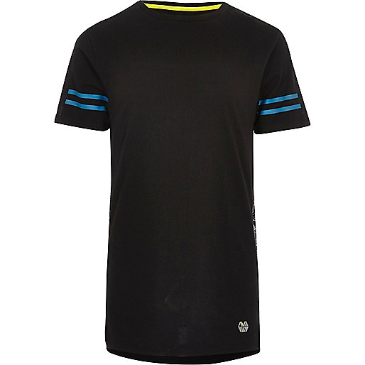 RI Active black print mesh sports T-shirt