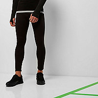 RI Active black print sports leggings