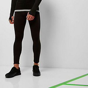 RI Active black print sports leggings
