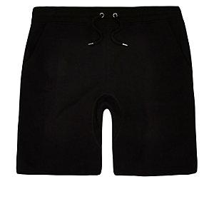 Zwarte korte joggingbroek