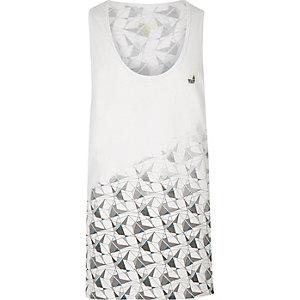 RI Active - wit sporthemdje met print
