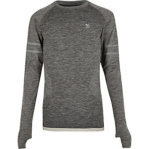 RI Active grey seamless sports T-shirt