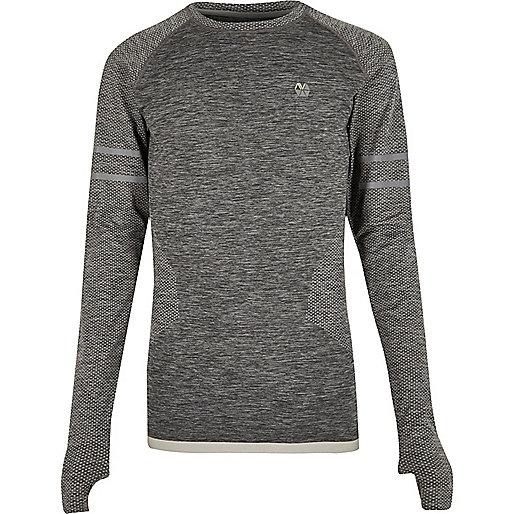RI Active grey seamless sports T-shirt