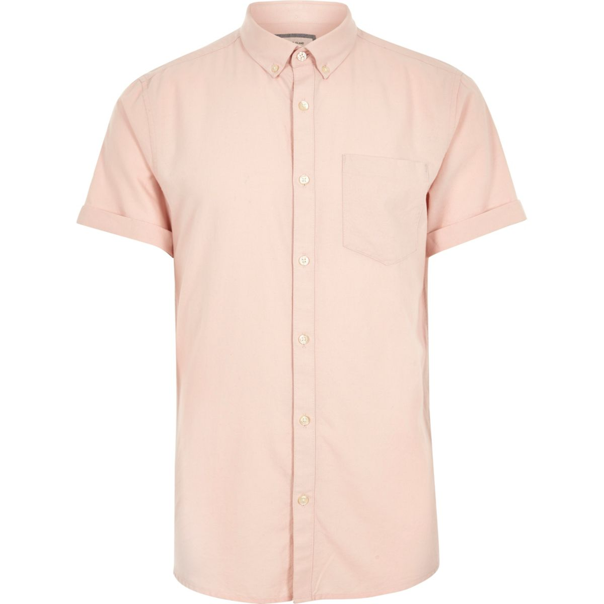 Pink short sleeve oxford shirt shirts sale men for Mens short sleeve oxford shirt