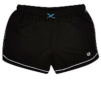 RI Active black running sports shorts