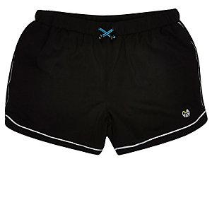 RI Active black running sports shorts