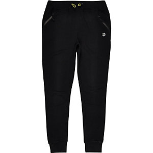 RI Active black print sports sweat joggers