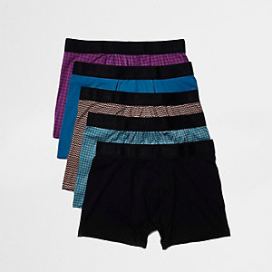 Bright geometric print boxer pack