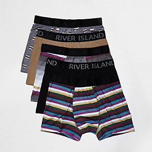 Green stripe boxers pack
