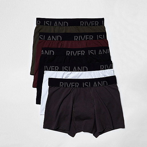 Red RI branded trunks multipack