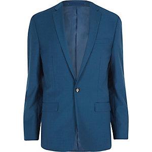 Blaue Slim Fit Anzugjacke