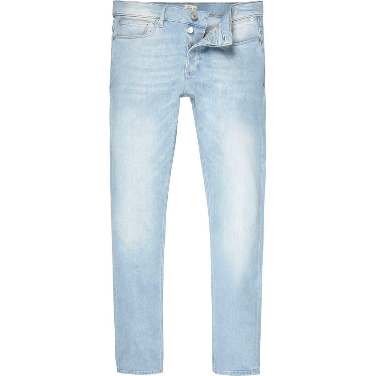 Light blue wash Sid skinny jeans