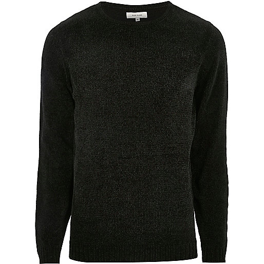 Dark green soft sweater