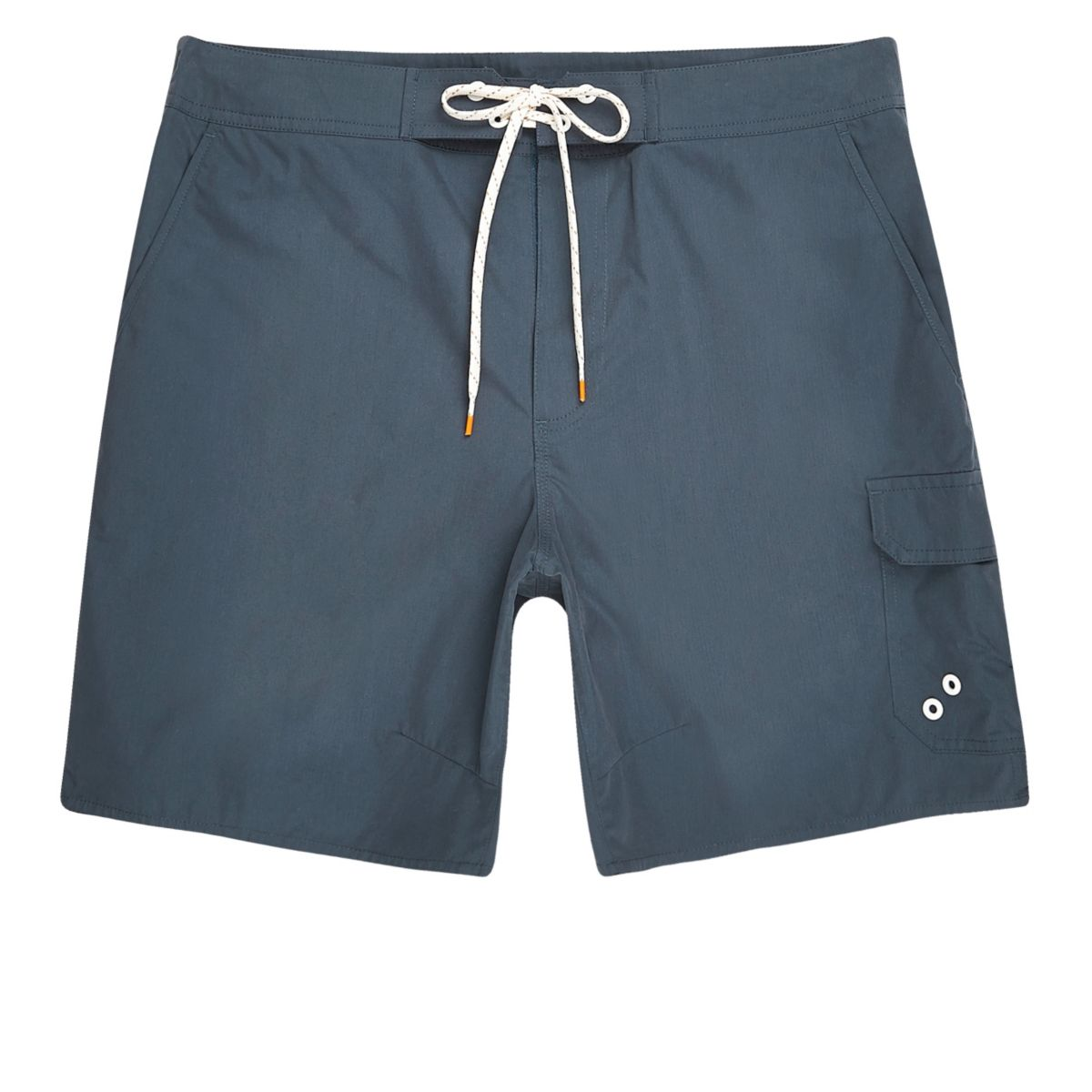 Navy blue pocket board shorts