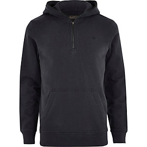 Black Jack & Jones zip long sleeve hoodie