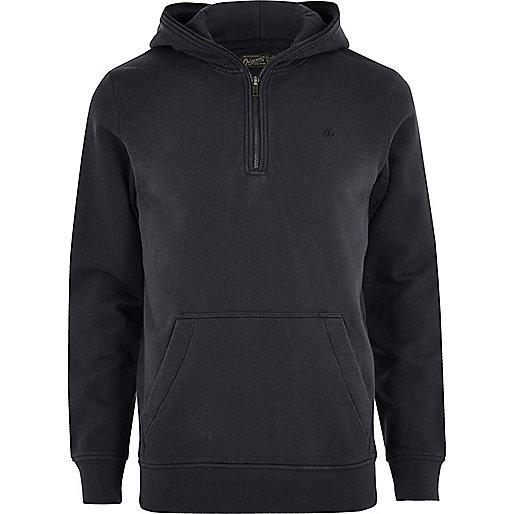 Black Jack & Jones zip long sleeve hoodie
