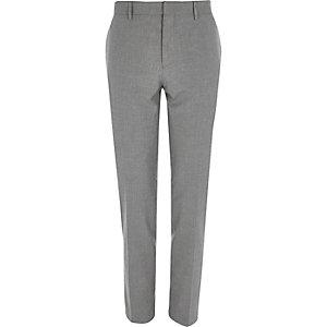 Lichtgrijs skinny pantalon