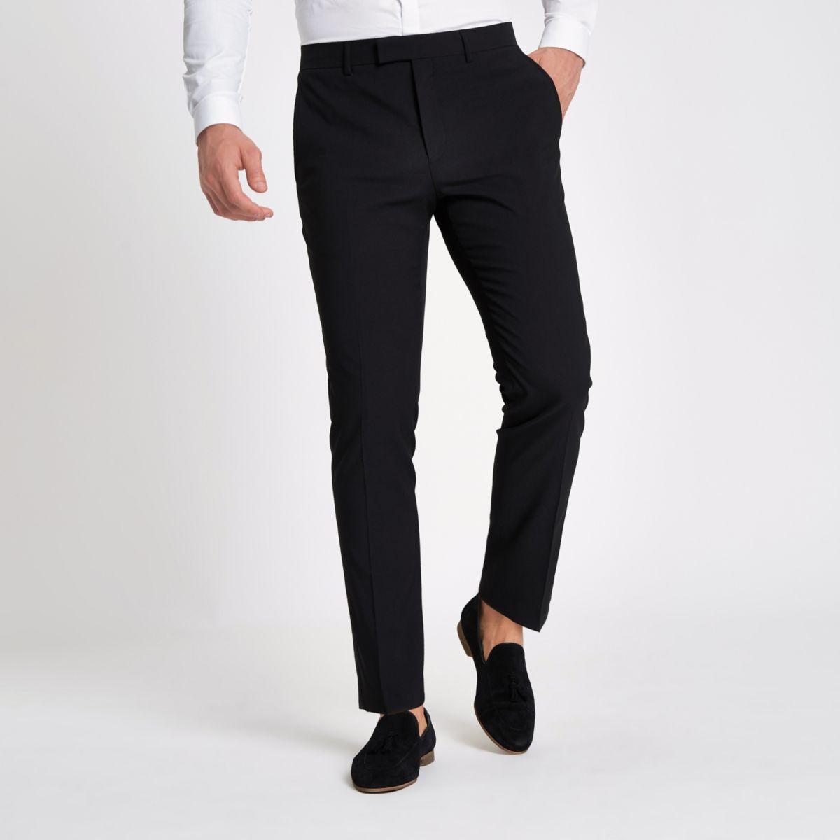 Zwarte skinny-fit pantalon