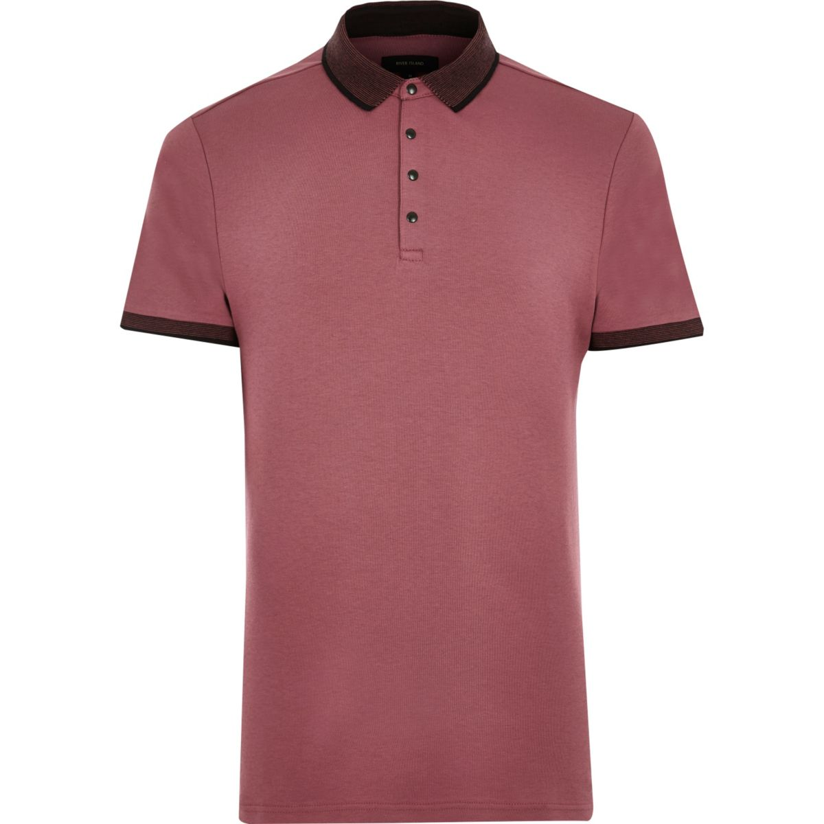 Light red polo shirt