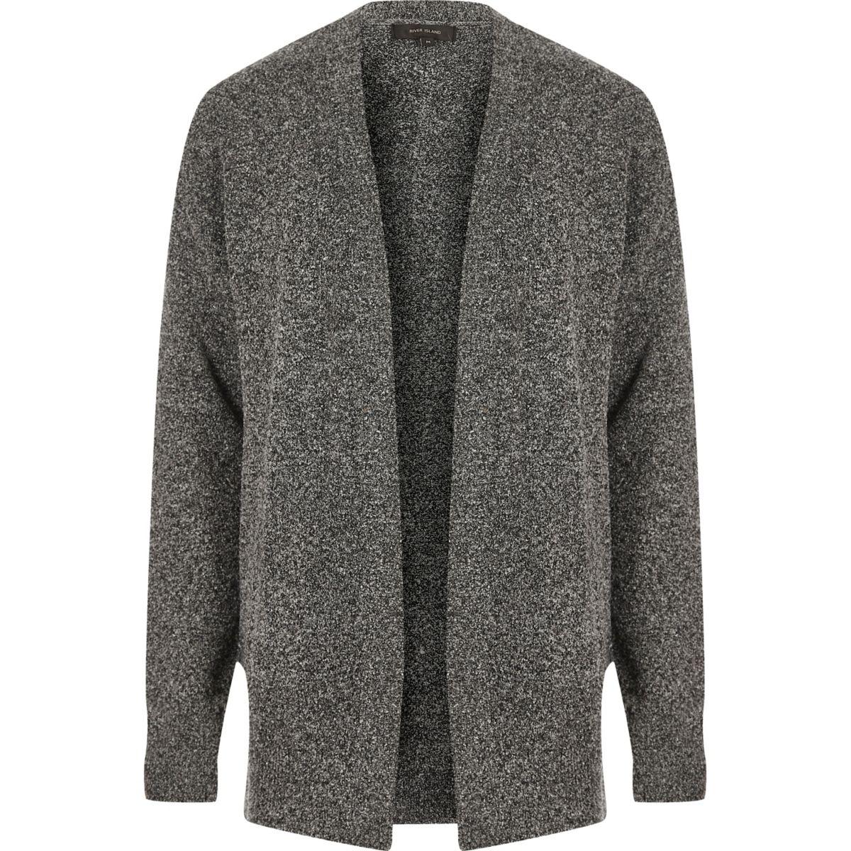 Grey slouchy cardigan