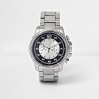Silver metal watch