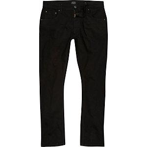 Ronnie - Zwarte wash skinny smaltoelopende jeans