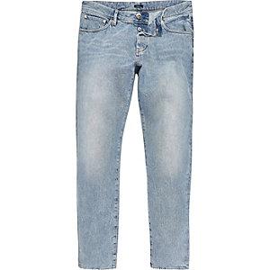 Design Forum – Jeans in blauer Acid-Waschung