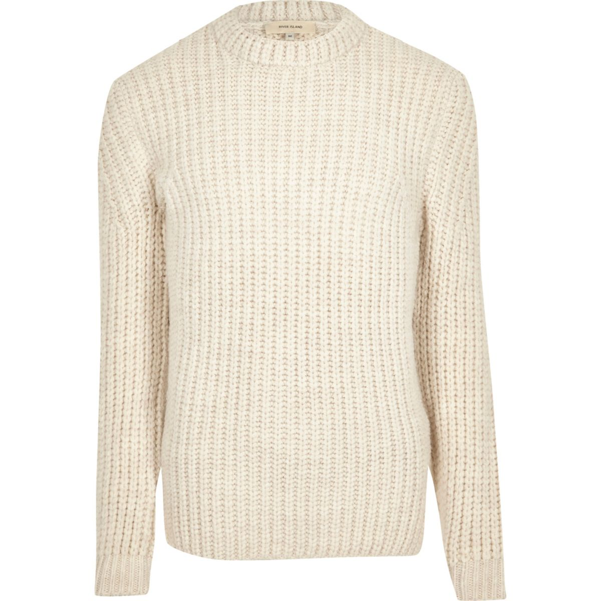Cream chunky knit jumper