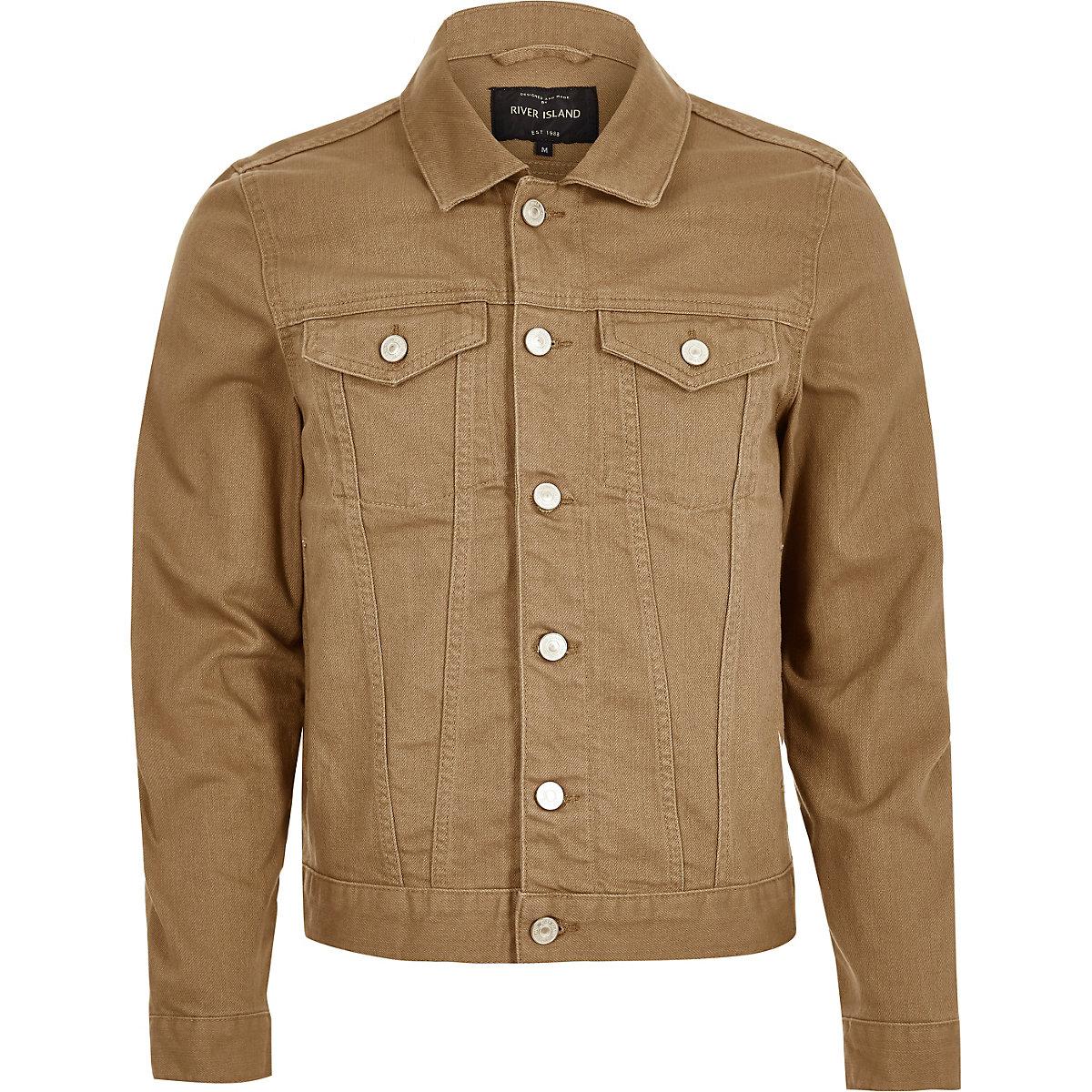 Coats Light Men Sale Brown Denim Jackets Buqwy Amp; Jacket wxYqOTHq