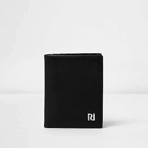 Black lattice panel card holder