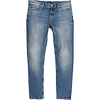 Jean Sid coupe skinny bleu clair