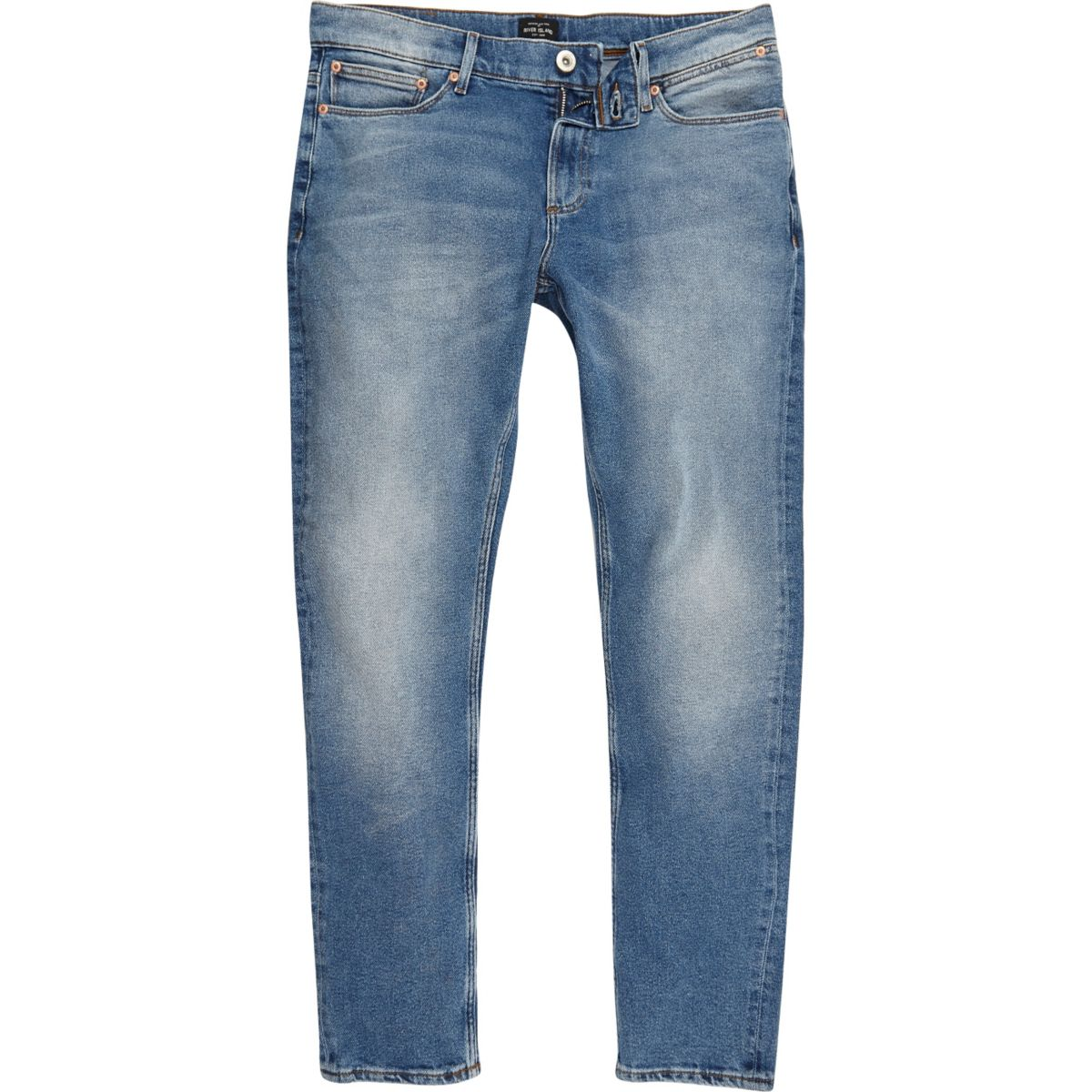 Light blue skinny fit Sid jeans