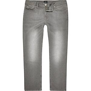 Dean – Graue Straight Jeans