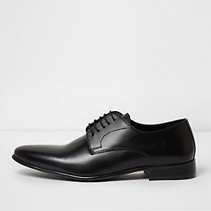 Chaussures habillées en cuir noir
