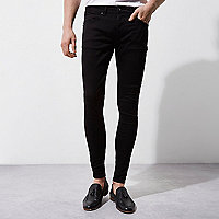 Black Ollie super skinny spray on jeans