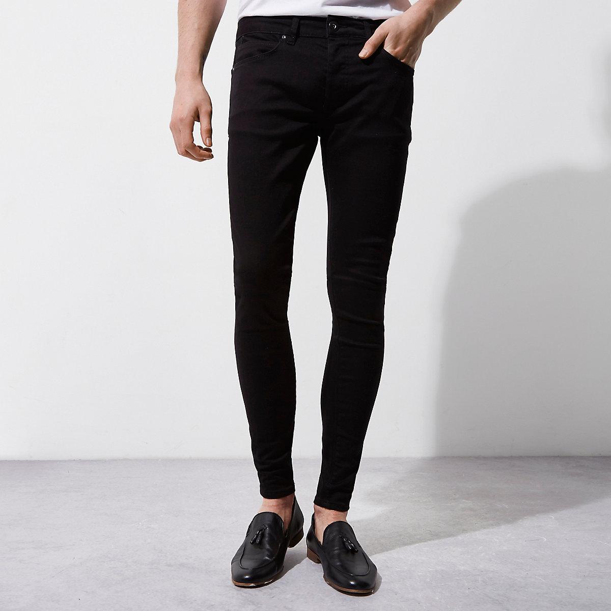 Black Ollie super skinny spray on jeans