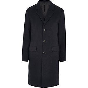Marineblauer, klassischer Mantel