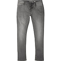 Big & Tall – Sid – Jean skinny gris
